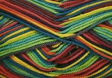 χρωματισμένα νήματα Στοκ φωτογραφία με δικαίωμα ελεύθερης χρήσης