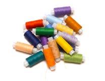 Χρωματισμένα νήματα Στοκ φωτογραφίες με δικαίωμα ελεύθερης χρήσης