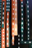 Χρωματισμένα ξύλινα λωρίδες Στοκ φωτογραφίες με δικαίωμα ελεύθερης χρήσης