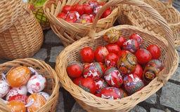 Χρωματισμένα Πάσχα αυγά Στοκ φωτογραφία με δικαίωμα ελεύθερης χρήσης