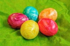 Χρωματισμένα Πάσχα αυγά Στοκ φωτογραφίες με δικαίωμα ελεύθερης χρήσης