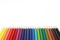 χρωματισμένα πολυ μολύβι&a στοκ φωτογραφίες με δικαίωμα ελεύθερης χρήσης