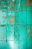 Χρωματισμένα πράσινα κεραμίδια Στοκ Εικόνα