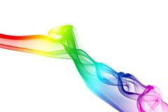 χρωματισμένα ρεύματα καπνού στοκ εικόνες
