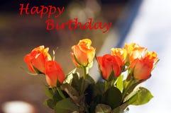 Χρωματισμένα σολομός τριαντάφυλλα στο βάζο στοκ εικόνα με δικαίωμα ελεύθερης χρήσης