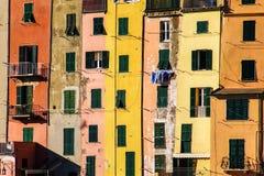 χρωματισμένα σπίτια Στοκ φωτογραφία με δικαίωμα ελεύθερης χρήσης
