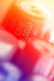 χρωματισμένα συστατικά η&lambda Στοκ Εικόνες