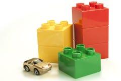 Χρωματισμένα τούβλα στοκ εικόνες με δικαίωμα ελεύθερης χρήσης