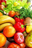 χρωματισμένα τρόφιμα Στοκ φωτογραφία με δικαίωμα ελεύθερης χρήσης