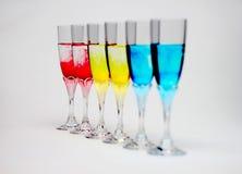 χρωματισμένα φλυτζάνια στοκ φωτογραφίες με δικαίωμα ελεύθερης χρήσης