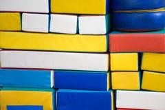 Χρωματισμένα χαλιά Στοκ Εικόνες
