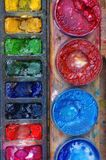 χρωματισμένα χρώματα στοκ φωτογραφίες με δικαίωμα ελεύθερης χρήσης