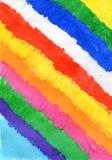 Χρωματισμένα λωρίδες βουρτσών watercolor Στοκ Φωτογραφία