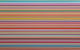 χρωματισμένα λωρίδες στο άσπρο υπόβαθρο Στοκ Φωτογραφία