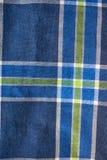 Χρωματισμένα λωρίδες του υφαντικού πουκάμισου καρό Στοκ Φωτογραφία
