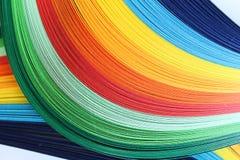 χρωματισμένα λωρίδες Στοκ φωτογραφία με δικαίωμα ελεύθερης χρήσης