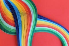 χρωματισμένα λωρίδες Στοκ φωτογραφίες με δικαίωμα ελεύθερης χρήσης
