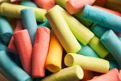 Χρωματισμένα marshmallows Στοκ φωτογραφία με δικαίωμα ελεύθερης χρήσης