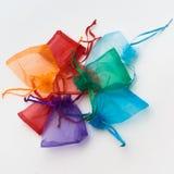 Χρωματισμένα satchels Στοκ εικόνα με δικαίωμα ελεύθερης χρήσης