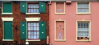 χρωματισμένα Windows Στοκ φωτογραφία με δικαίωμα ελεύθερης χρήσης