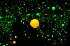 Χρωματισμένες λάμπες φωτός Στοκ Φωτογραφίες
