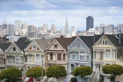 Χρωματισμένες κυρίες στο Σαν Φρανσίσκο στοκ φωτογραφία
