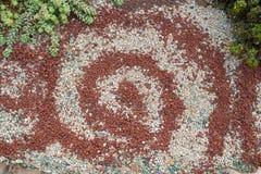 Χρωματισμένες μικρές πέτρες Στοκ Φωτογραφίες