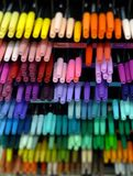 χρωματισμένες πέννες Στοκ Εικόνα