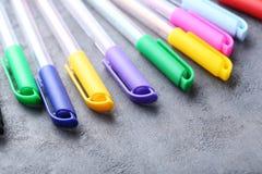 χρωματισμένες πέννες Στοκ Φωτογραφία