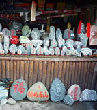 Χρωματισμένες πέτρες Στοκ Εικόνα