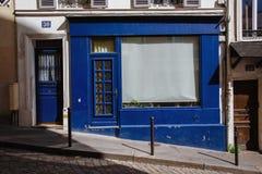 Χρωματισμένες παλαιές πόρτες Montmartre στοκ φωτογραφία με δικαίωμα ελεύθερης χρήσης