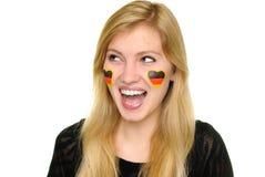 χρωματισμένες πρόσωπο νε&omicr Στοκ Εικόνα