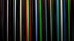 Χρωματισμένες ράβδοι γυαλιού, mateials για το φυσώντας γυαλί στοκ φωτογραφία