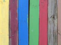 χρωματισμένες σανίδες Στοκ εικόνα με δικαίωμα ελεύθερης χρήσης