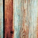 Χρωματισμένες σανίδες με το παλαιό χρώμα Στοκ εικόνα με δικαίωμα ελεύθερης χρήσης