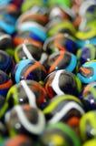 Χρωματισμένες σφαίρες γυαλιού Στοκ Εικόνες