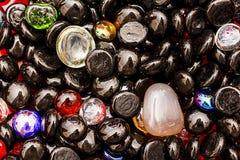 Χρωματισμένες υπόβαθρο/σύσταση πετρών Στοκ φωτογραφία με δικαίωμα ελεύθερης χρήσης