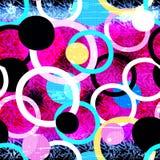 Χρωματισμένη άνευ ραφής σύσταση γκράφιτι Στοκ Φωτογραφία