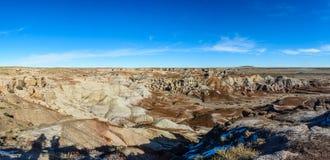 Χρωματισμένη έρημος στην Αριζόνα Στοκ φωτογραφίες με δικαίωμα ελεύθερης χρήσης