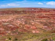 Χρωματισμένη έρημος Στοκ εικόνες με δικαίωμα ελεύθερης χρήσης