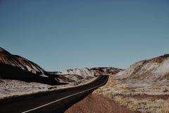 Χρωματισμένη έρημος Στοκ φωτογραφία με δικαίωμα ελεύθερης χρήσης
