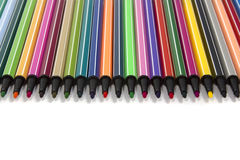 χρωματισμένη αισθητή άκρη π&epsilo Στοκ Εικόνες