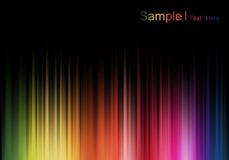 χρωματισμένη ανασκόπηση αφί& Στοκ Εικόνες