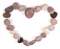 χρωματισμένη ανασκόπηση καρδιά πλαισίων που διαμορφώνεται Στοκ Φωτογραφία
