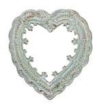 χρωματισμένη ανασκόπηση καρδιά πλαισίων που διαμορφώνεται Στοκ Εικόνα