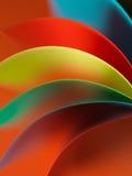 χρωματισμένη δομή εγγράφου λεπτομέρειας που κυματίζουν στοκ εικόνες με δικαίωμα ελεύθερης χρήσης