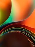χρωματισμένη δομή εγγράφου λεπτομέρειας που κυματίζουν στοκ φωτογραφίες με δικαίωμα ελεύθερης χρήσης