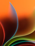 χρωματισμένη δομή εγγράφου λεπτομέρειας που κυματίζουν στοκ φωτογραφίες