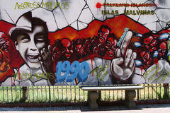 Χρωματισμένη επιτροπή σε Plaza de Mayo Στοκ φωτογραφίες με δικαίωμα ελεύθερης χρήσης