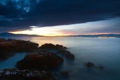 Χρωματισμένη θάλασσα Στοκ εικόνες με δικαίωμα ελεύθερης χρήσης